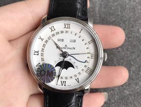 OMV2版宝珀经典系列复刻6654月相腕表