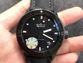 GF厂宝珀五十噚43.6mm男表顶级复刻手表