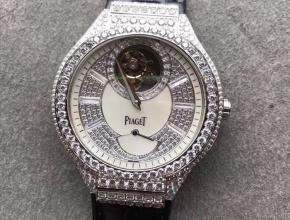 R8伯爵P0L0 G0A38148真陀飞轮满天星皮带男款手表