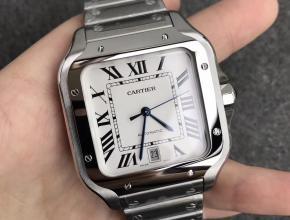 V6卡地亚Santos1847方形山度士手表 表带快速替换装置