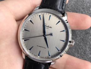 ETC格拉苏蒂原创议员卓越系列腕表限量版灰盘
