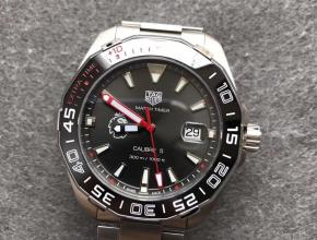 GS泰格豪雅競潛系列300M英超联赛特别款深灰白刻度外圈