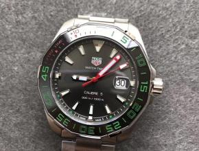 GS泰格豪雅競潛系列300M英超联赛特别款绿刻度外圈