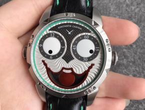 V9俄罗斯小丑康斯坦丁切金 直径42 独特机械手表