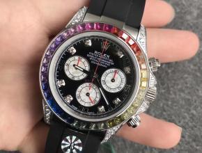 BL劳力士彩虹迪通拿116599RBOW手表