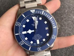 XF帝舵领潜型25600TB 钛金属表带(蓝盘)