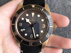 ZF帝舵碧湾青铜型M79250BA-0001 复古款式