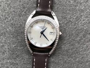 GS厂浪琴马术复刻表系列骑仕女士手表石英高品质镶钻