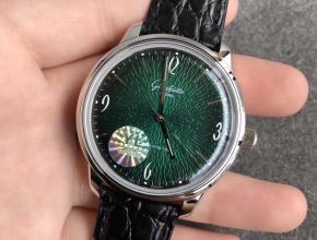 YL格拉苏蒂鎏金60年代复古纪念腕表绿面复刻表