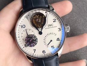 ZF厂万国表葡萄牙系列逆跳陀飞轮复刻手表
