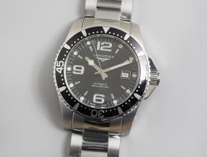 浪琴康卡斯潜水系列L3.741.4.96.6腕表