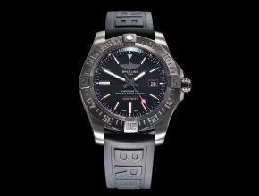 gf厂百年灵复仇者黑鸟V4终极版男士酷黑运动机械手表