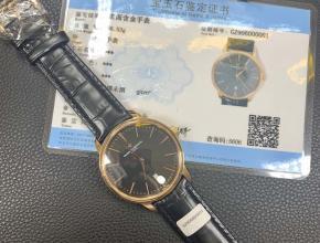 江诗丹顿18k玫瑰金表传承系列85180/000R-9166腕表