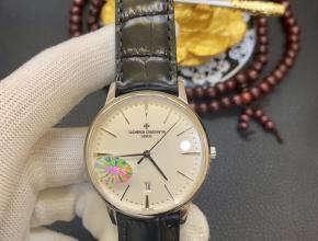 江诗丹顿18k铂金传承系列85180/000G-9230腕表