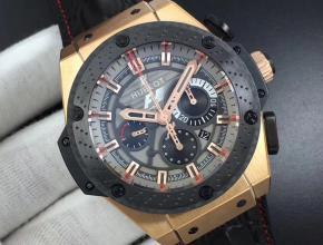 宇舶复刻表王者至尊系列F1赛车运动兼文雅男士机械手表