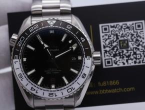 vs厂欧米茄海马600m黑白陶瓷复刻表评测 厚实表款