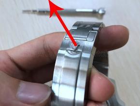 劳力士绿水鬼表扣怎么使用及劳力士水鬼表链带怎么卸