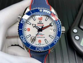 VS厂欧米茄复刻手表43.5mm全新海马600米美洲杯