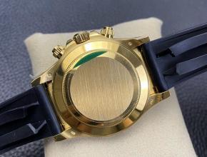 N厂手表劳力士复刻迪通拿4130胶带款黄金陶瓷保罗盘新版胶带版