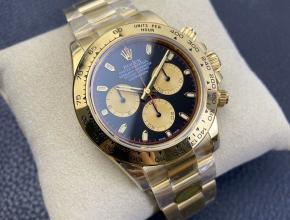 n厂手表订制版劳力士复刻迪通拿专属Cal.4130自动上链机芯钢带款全金