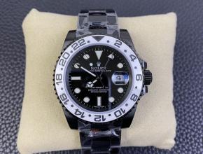 劳力士复刻手表116710黑白双色陶瓷盘面黑武士奥利奥