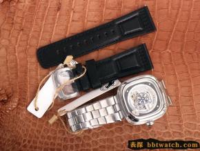 SEVENFRIDAY/七个星期五复刻手表自动机械男表瑞士钢带大表盘s1/01m
