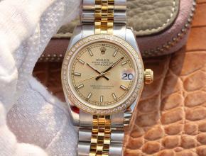 劳力士复刻手表日志型女款系列腕表
