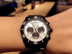 万国高仿手表IWC动能储备显示日月星辰空军一号特种部队专用腕表