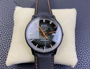 美度精仿手表新推出Commander Gradient香榭系列渐层80小时腕表
