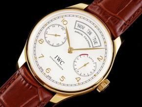 IWC万国复刻手表葡萄牙系列年历男士机械腕表