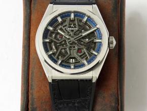 LF真力时精仿手表DEFY系列GLASSIC镂空男士机械腕表