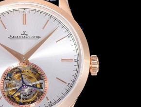 积家高仿手表大师1662451系列Cal798自动真陀飞轮男士腕表