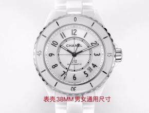 香奈儿顶级高仿手表J12系列女士全自动机械白盘腕表