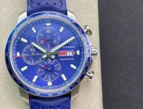 萧邦顶级精仿手表MilleMiglia系列蓝盘运动男士机械腕表
