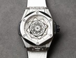 宇舶顶级高仿手表BigBang系列刺青男士机械白盘腕表