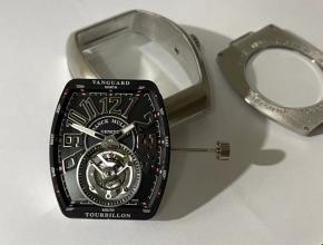 法兰克穆勒顶级精仿手表先锋系列陀飞轮男士手动机械腕表
