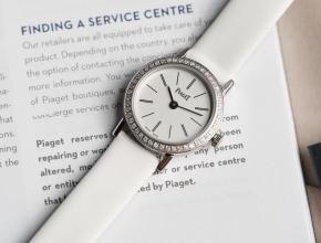 伯爵顶级精仿手表ALTIPLANO系列女士石英钻石腕表