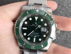 N厂顶级复刻劳力士绿水鬼V12版本SUB终极版潜航者系列男士机械手表