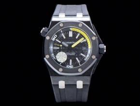 爱彼顶级复刻手表15706系列陶瓷圈黑盘男士机械腕表