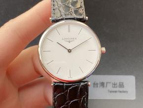 浪琴顶级高仿手表超薄嘉岚系列精品情侣对表石英腕表