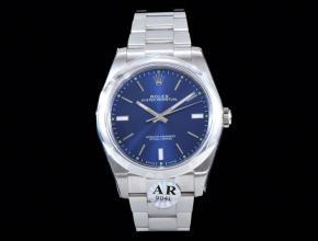 劳力士顶级复刻手表蚝式恒动系列男士机械蓝盘钢带腕表