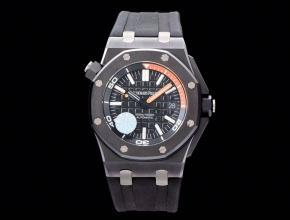 爱彼顶级复刻手表15706系列陶瓷圈黑盘男士机械手表