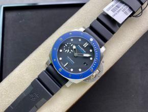 沛纳海顶级复刻手表小蓝鬼PAM1209系列男士机械深邃蓝腕表