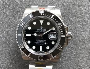 劳力士顶级精仿手表潜航者系列黑水鬼男士机械腕表