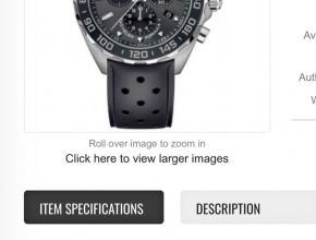 顶级复刻手表泰格豪雅男款男款黑盘黑带F1系列腕表