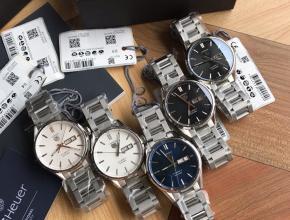 顶级复刻手表泰格豪雅男款黑盘钢带卡莱拉系列双日历款机械腕表
