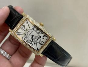 顶级复刻手表法穆兰穆勒真金真钻皮带腕表