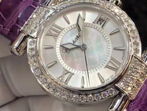 顶级复刻手表萧邦女款36MM机械 真钻皮带