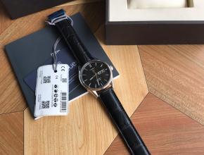 顶级复刻手表泰格豪雅男款黑盘黑带卡莱拉系列机械腕表