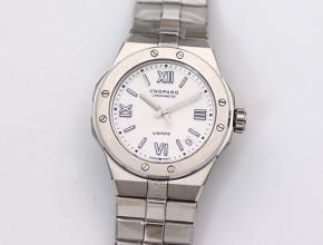 萧邦复刻手表男款白盘钢带阿尔卑斯雄鹰 ALPINE EAGLE系列自动机械手表